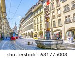 streets with shopping area and... | Shutterstock . vector #631775003