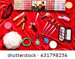 cosmetics for giving freshness... | Shutterstock . vector #631798256