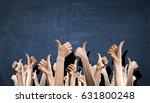 hands showing gestures | Shutterstock . vector #631800248