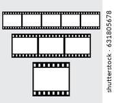 Set Of Vector Filmstrips....