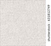 rough linen texture. white... | Shutterstock .eps vector #631812749