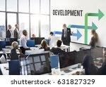 business team meeting... | Shutterstock . vector #631827329