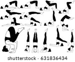 collection of vector icons of... | Shutterstock .eps vector #631836434