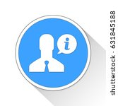 support button icon business... | Shutterstock . vector #631845188