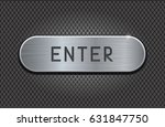 enter metal button on iron... | Shutterstock . vector #631847750