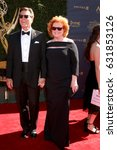 Small photo of LOS ANGELES - APR 30: Peter Bergman, Mariellen Bergman at the 44th Daytime Emmy Awards - Arrivals at the Pasadena Civic Auditorium on April 30, 2017 in Pasadena, CA