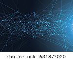 internet connection  abstract... | Shutterstock .eps vector #631872020