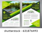 business brochure. flyer design.... | Shutterstock .eps vector #631876493