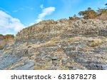 rocks and boulders on the...   Shutterstock . vector #631878278