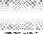 abstract halftone dotted... | Shutterstock .eps vector #631882724