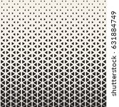 abstract geometric pattern... | Shutterstock .eps vector #631884749