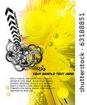 vector illustration of abstract ... | Shutterstock .eps vector #63188851