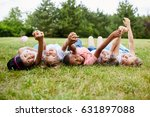 interracial kids show... | Shutterstock . vector #631897088