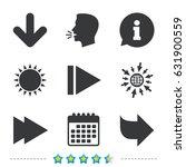 arrow icons. next navigation...