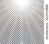 realistic sun rays light effect ... | Shutterstock .eps vector #631913888