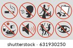 ramadan rules signs. some... | Shutterstock .eps vector #631930250