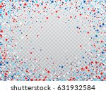 usa celebration confetti stars... | Shutterstock .eps vector #631932584