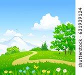 vector cartoon illustration of... | Shutterstock .eps vector #631939124