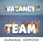group team business people and... | Shutterstock .eps vector #631941410