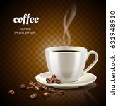 coffee concept illustration... | Shutterstock .eps vector #631948910