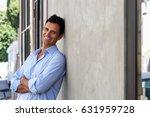 portrait of handsome mature man ... | Shutterstock . vector #631959728