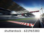 f1 motion blur race track | Shutterstock . vector #631965383