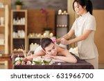 beautiful young woman having... | Shutterstock . vector #631966700