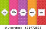 cute bright seamless pattern... | Shutterstock .eps vector #631972838