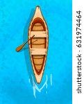 indian canoe. vector design for ...   Shutterstock .eps vector #631974464