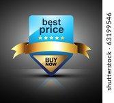 vector best price label design | Shutterstock .eps vector #63199546