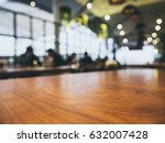 table top counter blurred... | Shutterstock . vector #632007428