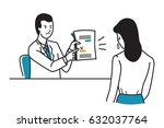 angry boss  manager ... | Shutterstock .eps vector #632037764