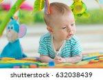 little baby | Shutterstock . vector #632038439