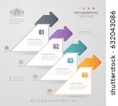 infographics design template... | Shutterstock .eps vector #632043086