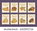 collection of posters with... | Shutterstock .eps vector #632052716