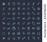 outline web vector outline icon ... | Shutterstock .eps vector #632058200