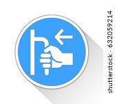push button icon business... | Shutterstock . vector #632059214
