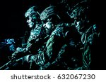group of security forces in... | Shutterstock . vector #632067230