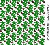 chestnuts pattern | Shutterstock .eps vector #632085950