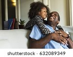 african descent family house... | Shutterstock . vector #632089349