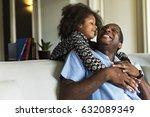 african descent family house... | Shutterstock . vector #632089349