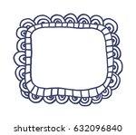 hand drawn frame | Shutterstock .eps vector #632096840