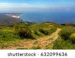 guincho beach and cascais... | Shutterstock . vector #632099636