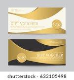 gold voucher wellness spa yoga... | Shutterstock .eps vector #632105498