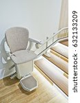 automatic stair lift for... | Shutterstock . vector #632133209