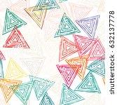 seamless pattern background ... | Shutterstock .eps vector #632137778