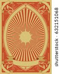 vintage grunge poster... | Shutterstock .eps vector #632151068