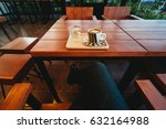 coffee cup in coffee shop. | Shutterstock . vector #632164988