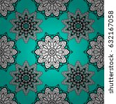 white wallpaper on texture... | Shutterstock . vector #632167058