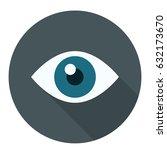 watcher icon | Shutterstock .eps vector #632173670